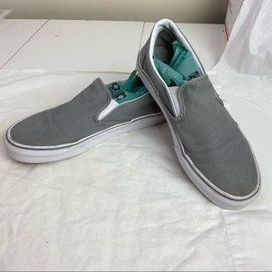 Nice Pre-Own Vans Grey Unisex Boat Shoes slip on